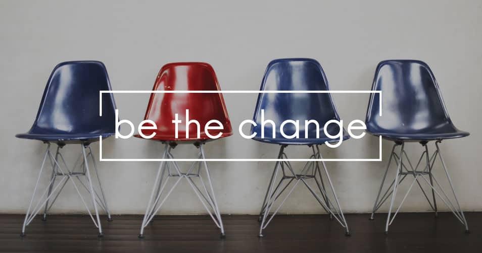 Omgaan met verandering is een kwestie van verandering omarmen