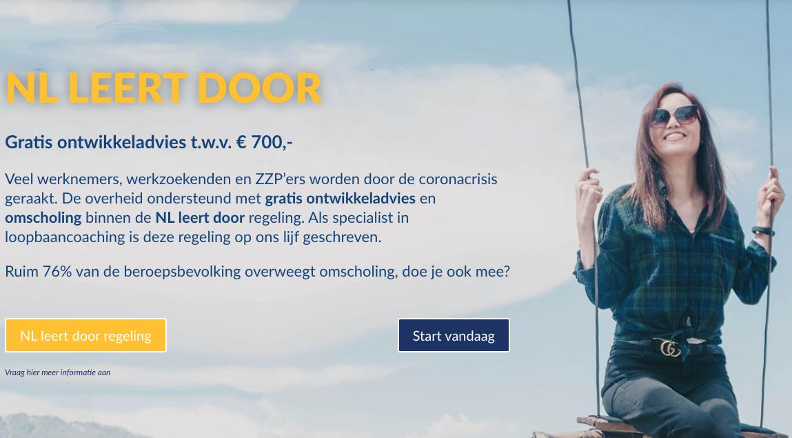 NL leert door - Gratis Ontwikkeladvies & Omscholing | Coaching.nl